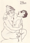 Edgar Du Perron erotic art.